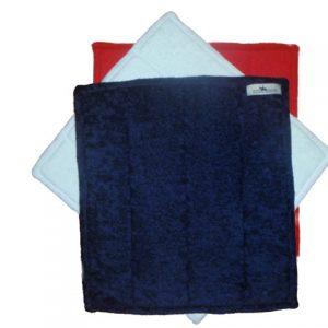 TOWELLING BANDAGE PADS - Set of 4